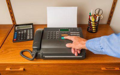 De fax: uw rechtszaak kan er door slagen of falen.